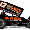 Clyde Knipp Racing #13 T-Rex Sprint Car