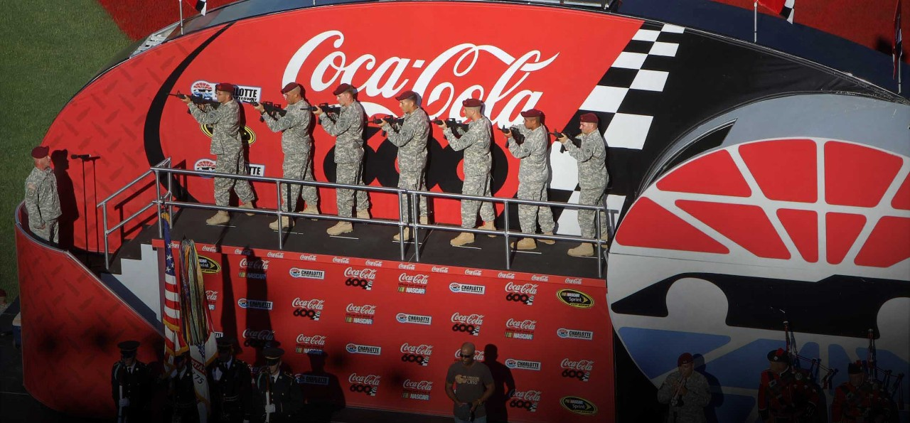 Coca-Cola at Charlotte Motor Speedway