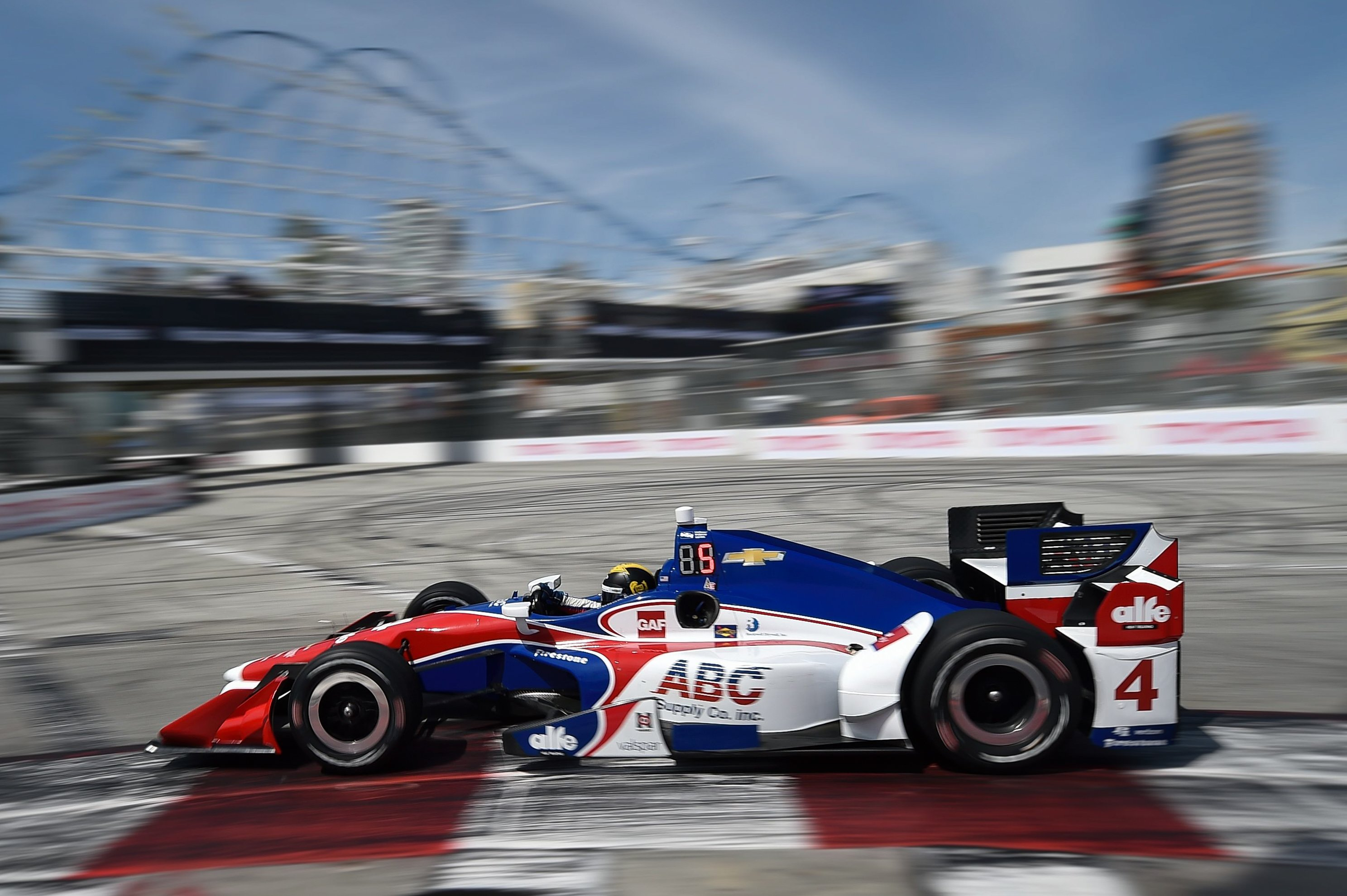 Conor Daly at the Toyota Grand Prix of Long Beach