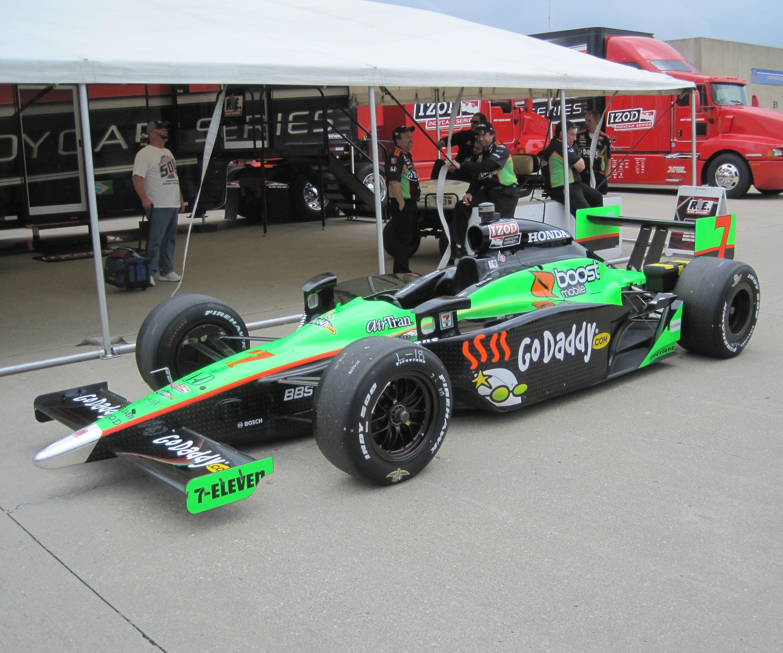 Danica Patrick GoDaddy IndyCar (2010 Indy 500)