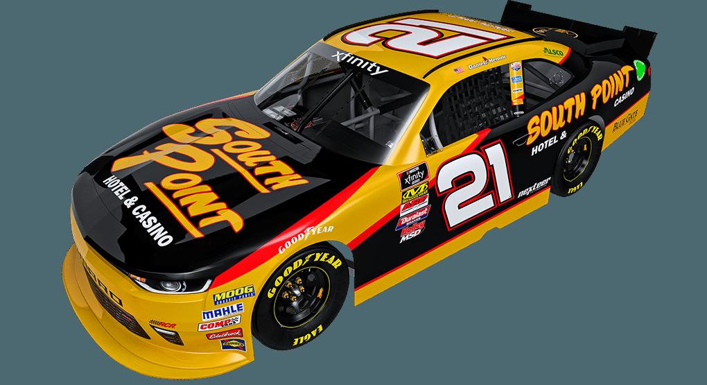 Daniel Hemric 2018 Paint Scheme - South Point NASCAR Race Car