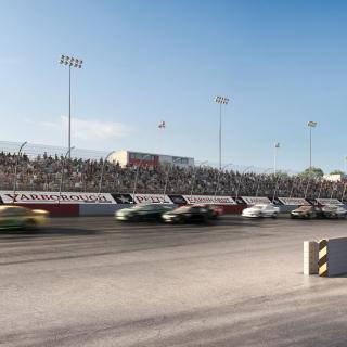 Darlington Raceway renovation project