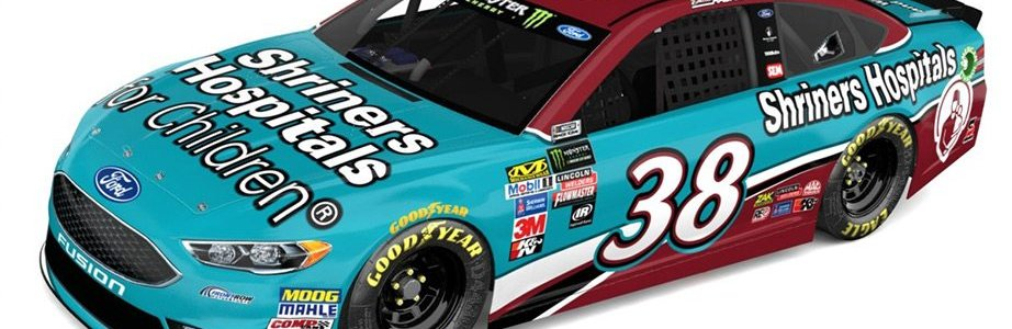 David Ragan 2018 Paint Scheme: Shriners Hospitals