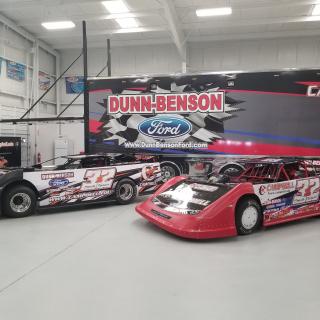 Dunn-Benson Motorsports 2018 cars