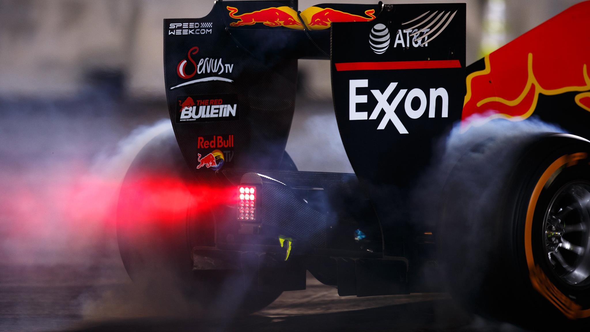 F1 Rear Wing endplates