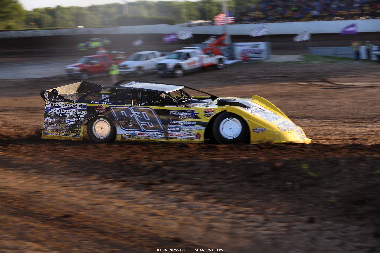 Frank Heckenast Jr at LaSalle Speedway 6460