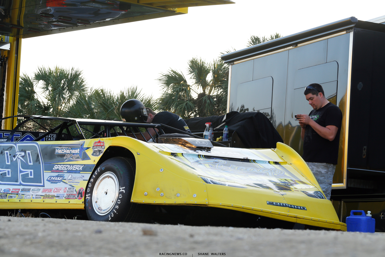 Frank Heckenast Jr crew at East Bay Raceway Park