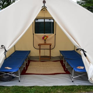 Glamping at The Glen