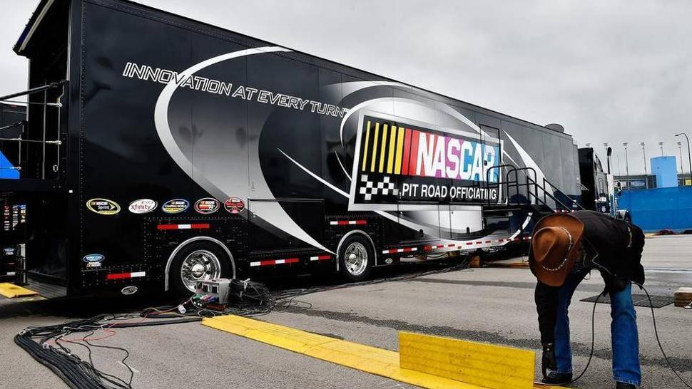 Hawk-Eye system - NASCAR Pit Road Officiating