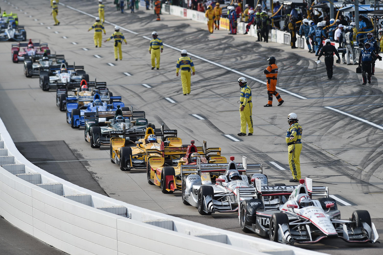 Indycar Pit Lane