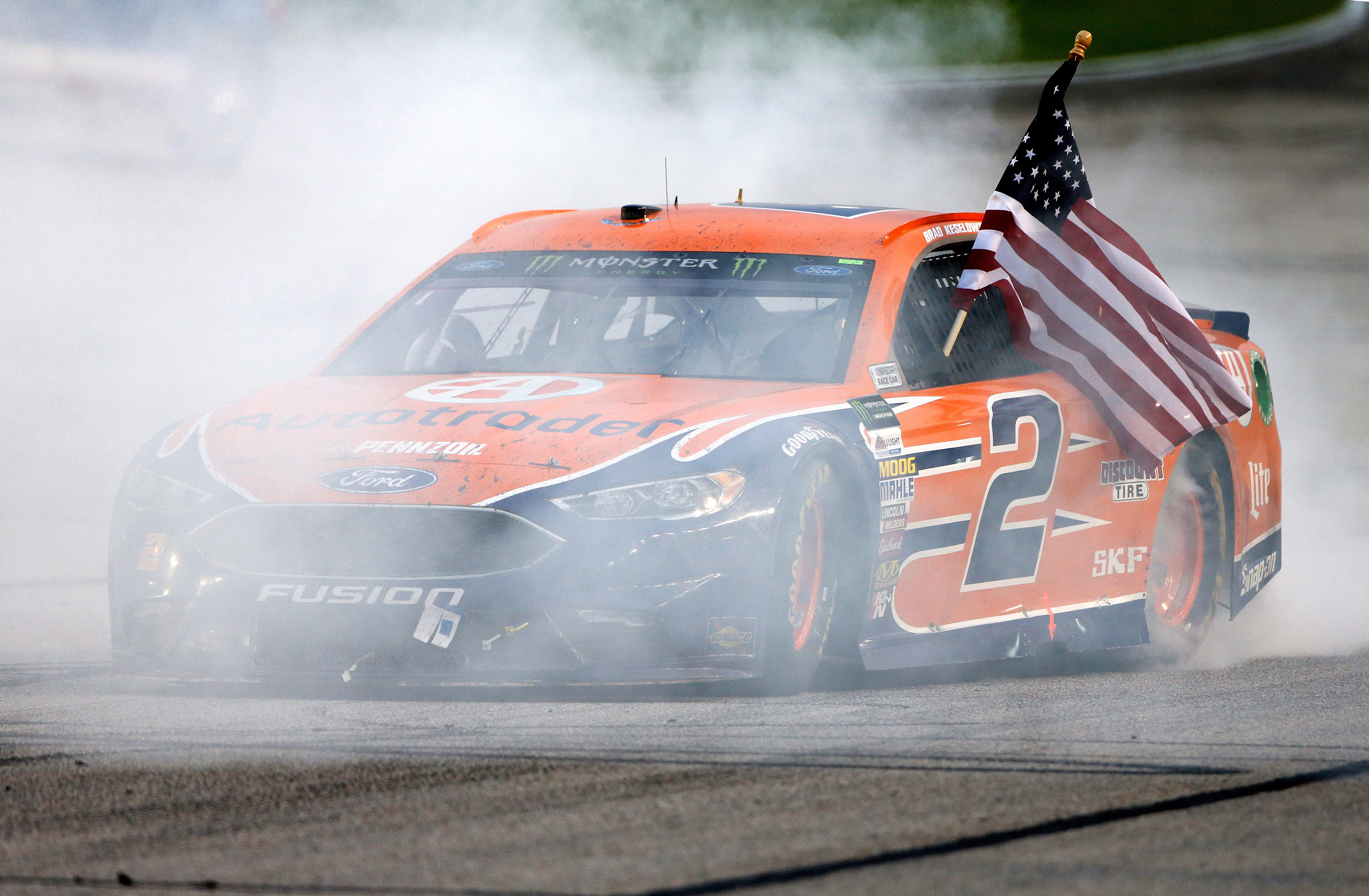 Joey Logano wins at Atlanta Motor Speedway