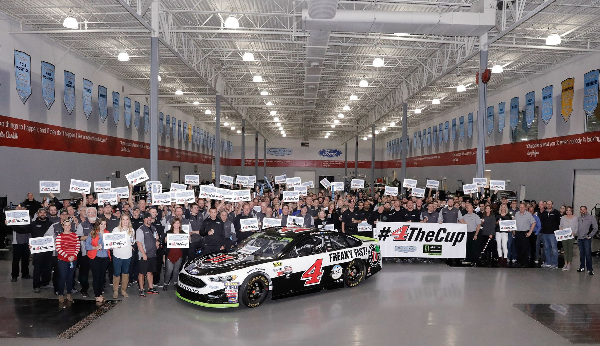 Kevin Harvick - Stewart-Haas Racing Shop