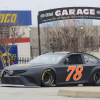 Martin Truex Jr at the Goodyear Tire test hosted at Texas Motor Speedway