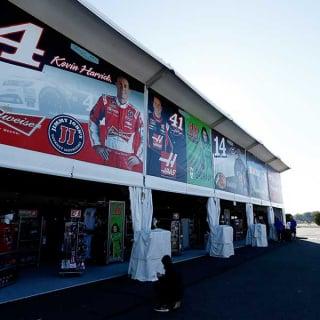 NASCAR Merchandise Tents