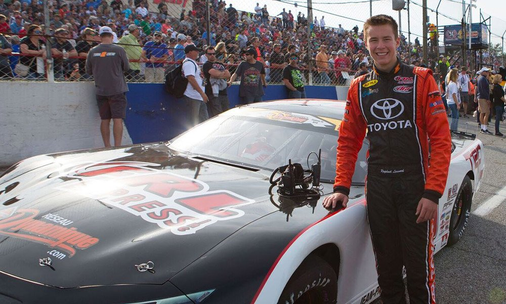 Raphael Lessard joins Kyle Busch Motorsports
