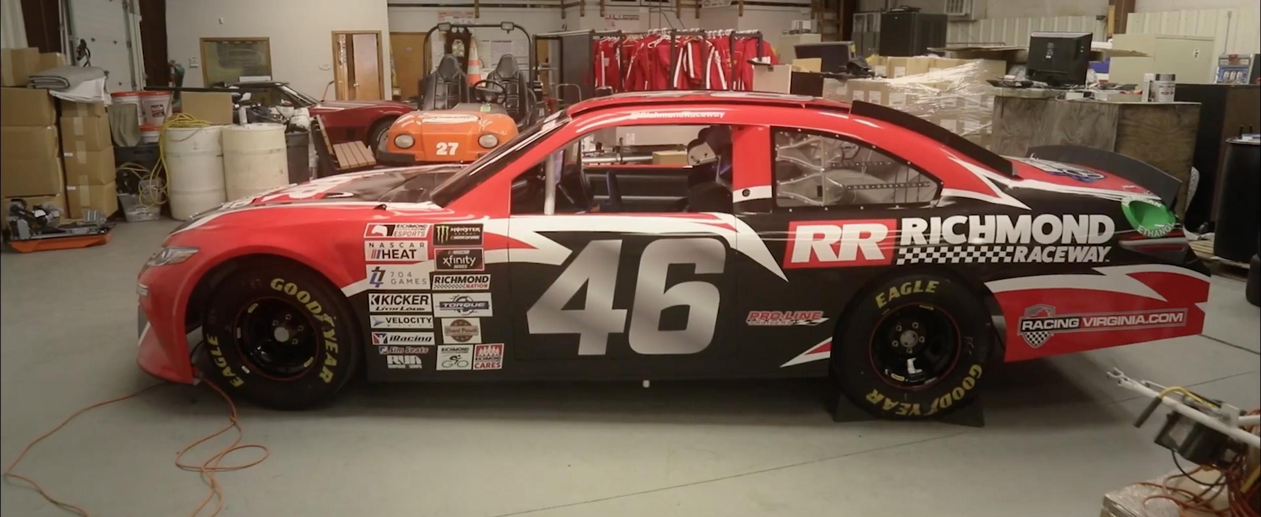 Richmond Raceway Simulator