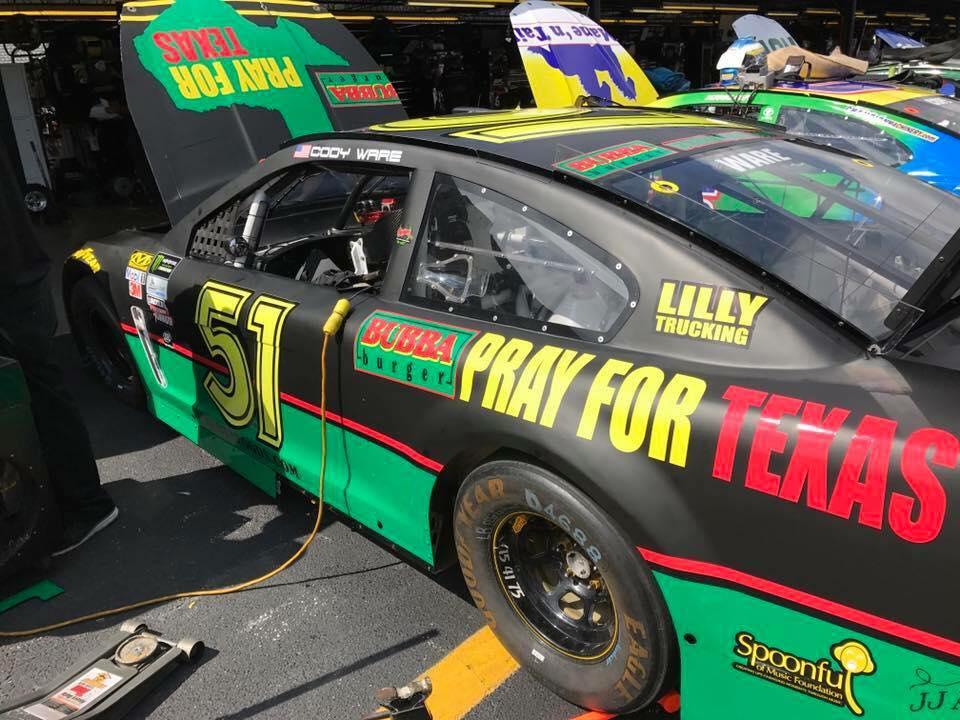 Rick Ware Racing - Pray for Texas 0 NASCAR