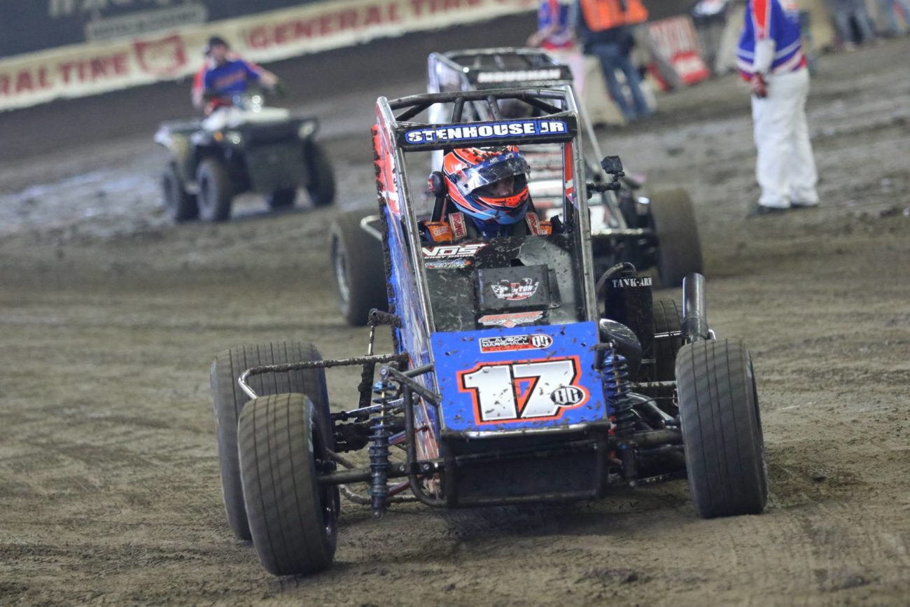 Ricky Stenhouse Jr at the 2018 Chili Bowl Nationals