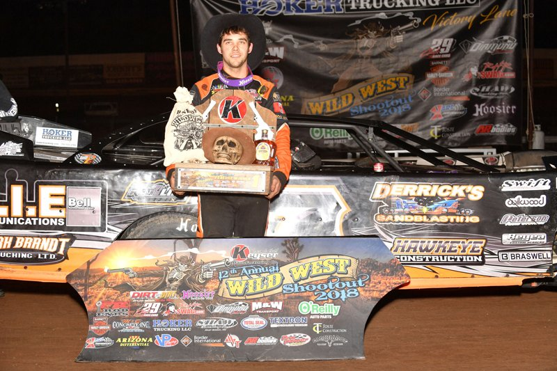 Ricky Weiss wins Wild West Shootout night 5