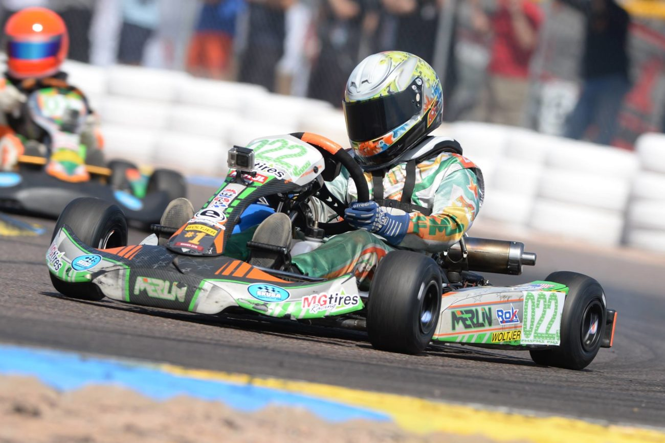 Sam Mayer - Karting