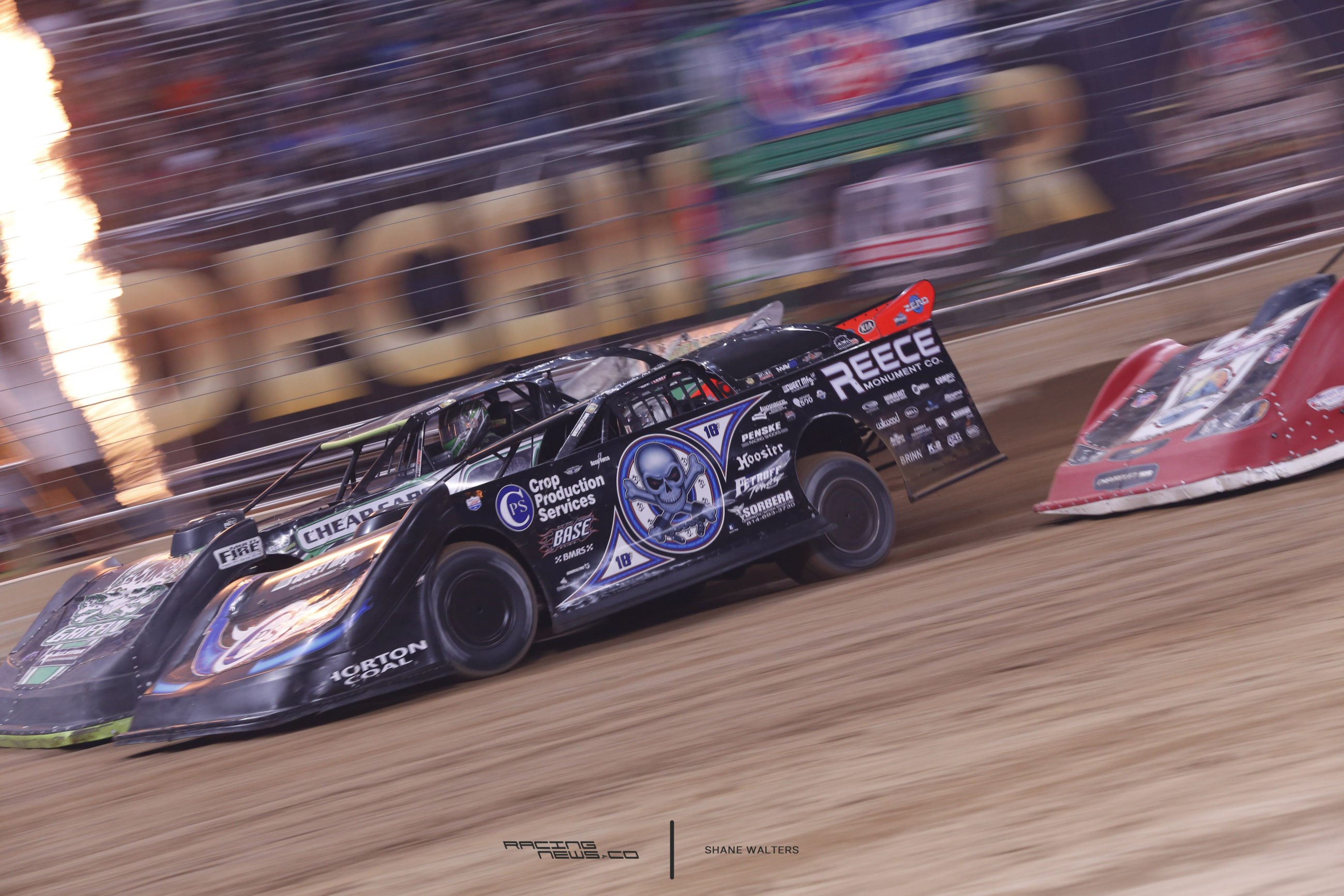 Scott Bloomquist in the 2016 Gateway Dirt Nationals