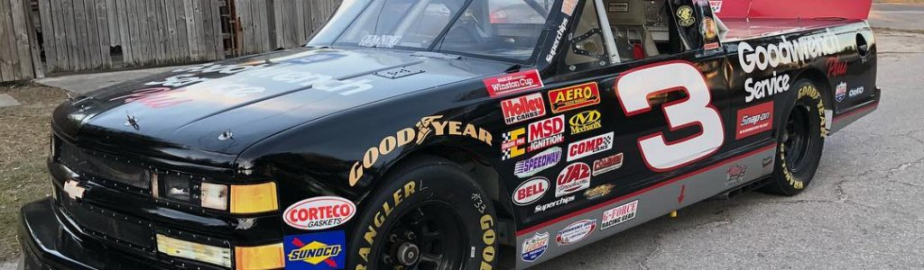 The 'Do it for Dale' guy just bought a #3 NASCAR truck