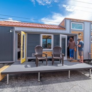 Tiny House at Bristol Motor Speedway - Try it Tiny