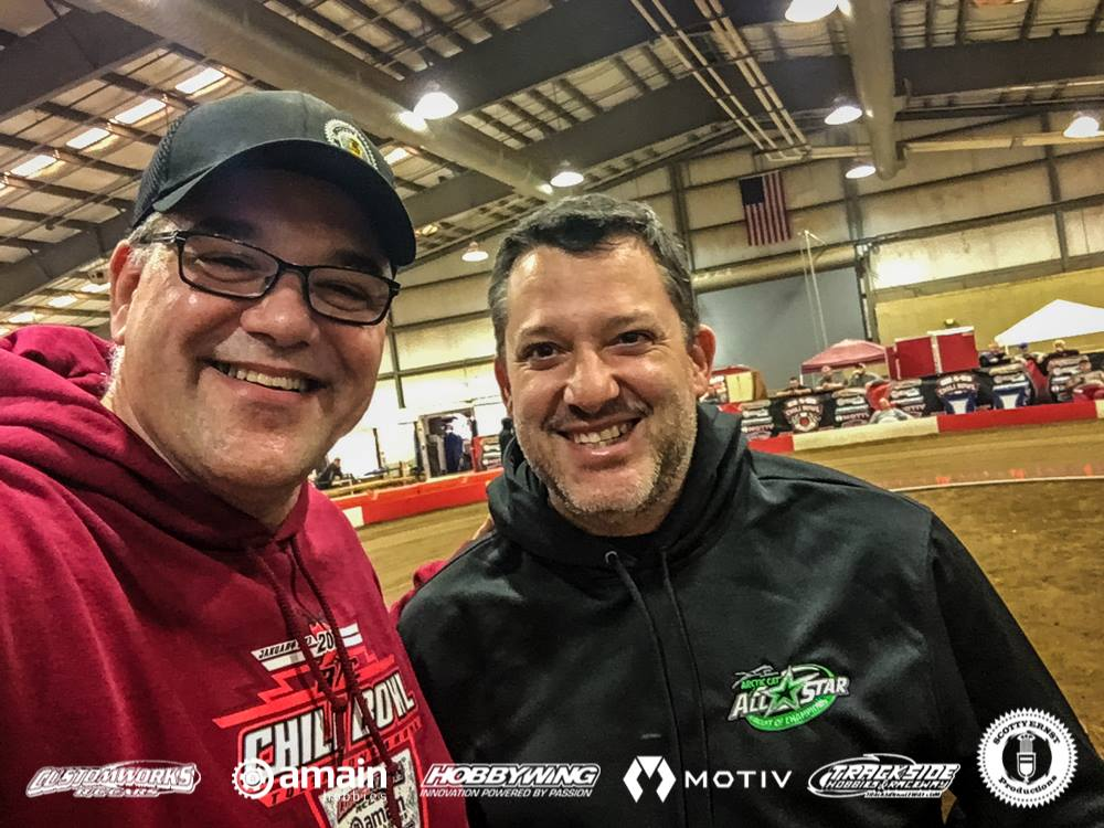 Tony Stewart - RC Chili Bowl