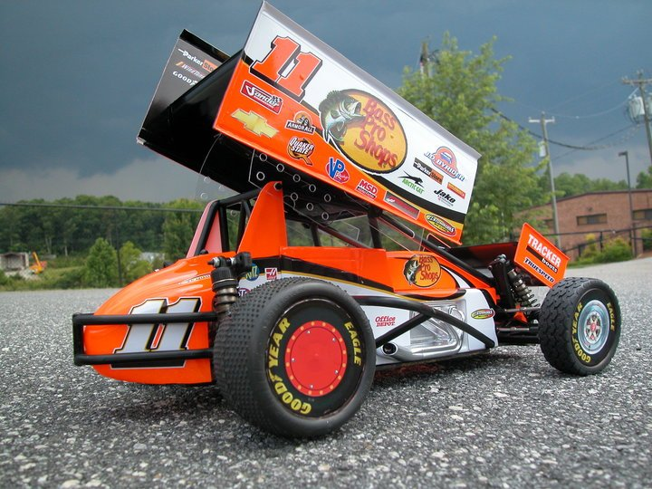 Tony Stewart's RC Sprint Car