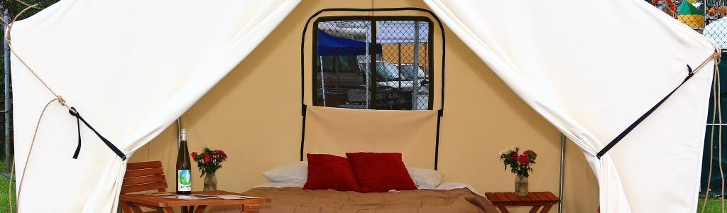 Camping at The Glen – Glamping