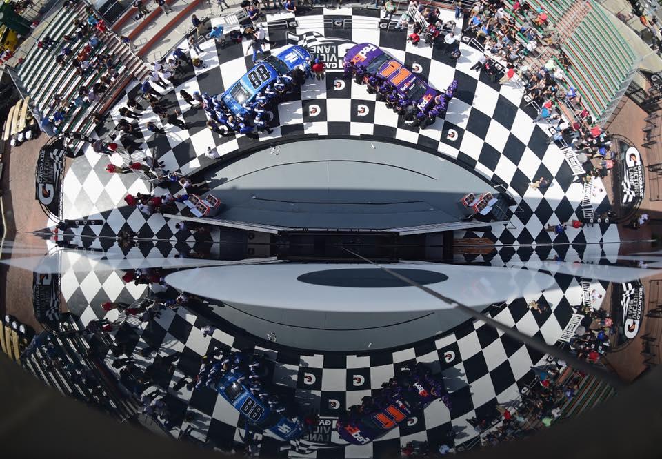 2018 Daytona 500 front row starters