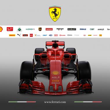 2018 Ferrari F1 car - SF71H