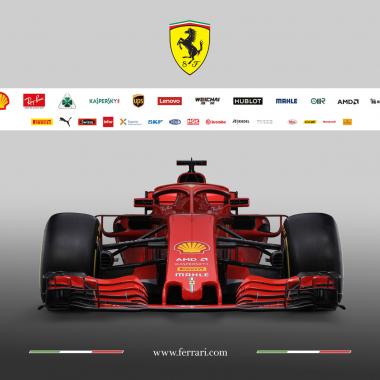 2018 Ferrari F1 car photos
