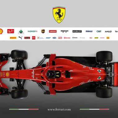2018 Ferrari car - SF71H