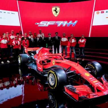 2018 Ferrari f1 car revealed