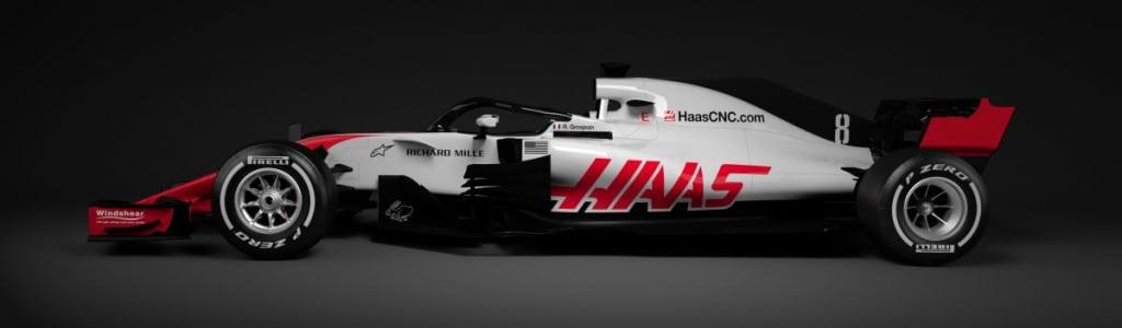 Haas F1: 2018 Car – VF-18
