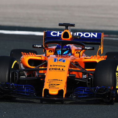 2018 McLaren - Fernando Alonso