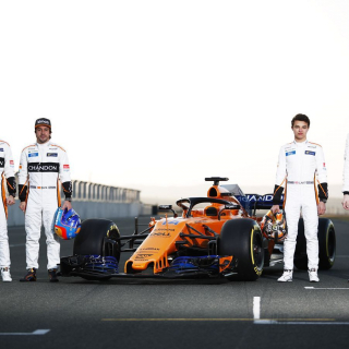 2018 McLaren Formula 1 car