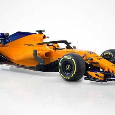 2018 McLaren Formula One car