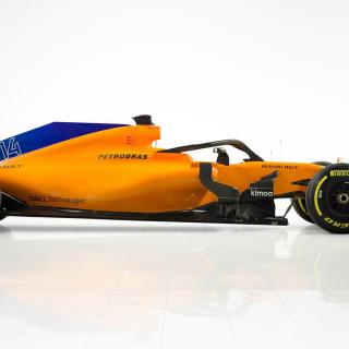 2018 McLaren f1 car - MCL33