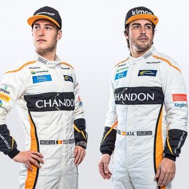 2018 McLaren f1 drivers