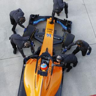 2018 McLaren front wing