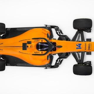 2018 McLaren race car photos - MCL33