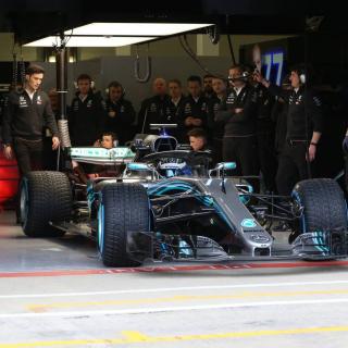 2018 Mercedes F1 Car