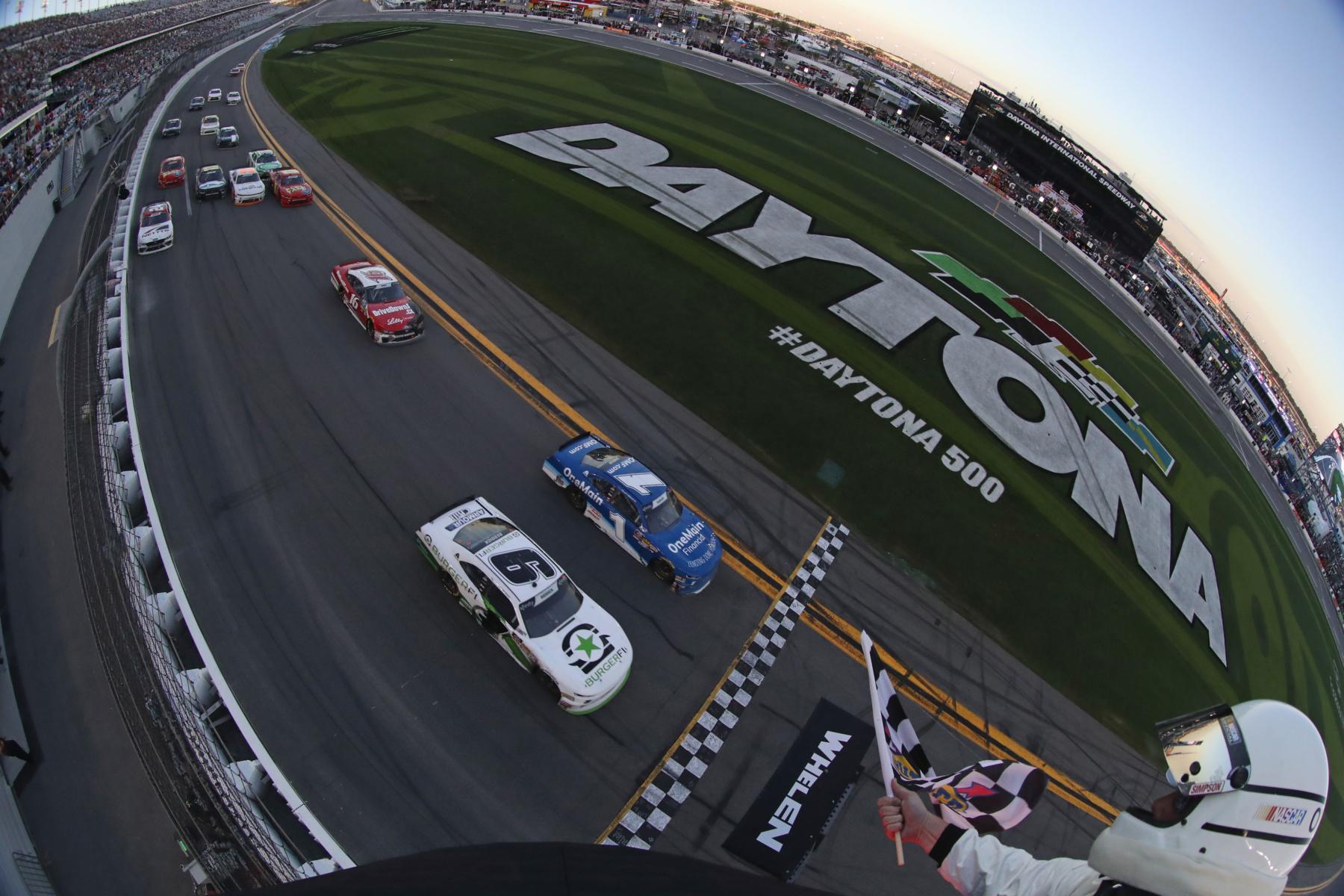 2018 NASCAR Xfinity Series finish at Daytona