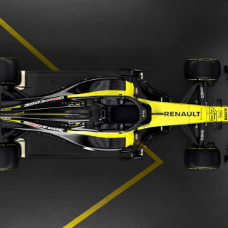 2018 Renault Sport F1 car