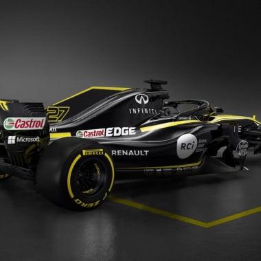 2018 Renault Sport car photo - F1 race car