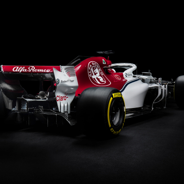 2018 Sauber F1 Car