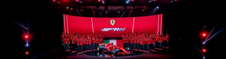 Scuderia Ferrari: 2018 car – SF71H