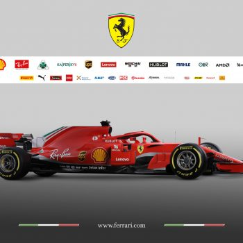2018 Scuderia Ferrari car - SF71H